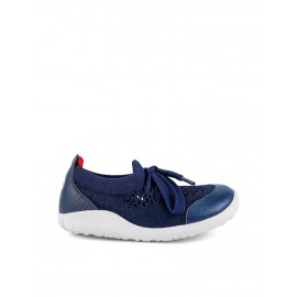 BOBUX STEP UP PLAY KNIT NAVY+RED PRIMI PASSI 732604